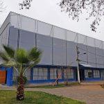 Fachada textil edificio de seguridad la reina 4